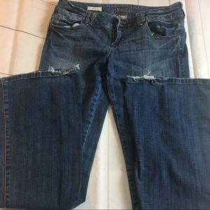 Decree Stretch Flare Leg Jeans Size 7